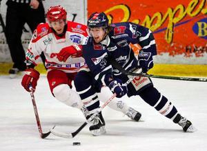 Piteå, här i en match mot ÖHC förra året, får möta grundseriekollegan Asplöven igen sedan ishockeyförbundet gjort fel i lottningen inför play off 2.