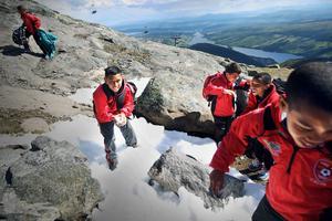 Life Zone FC från Sydafrika fick göra en tripp upp till Åre under veckan. Där fick killarna se snö för första gången.