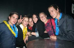 Silk. Fredrik, Markus, Niklas, Linnea, Markus och Jesper
