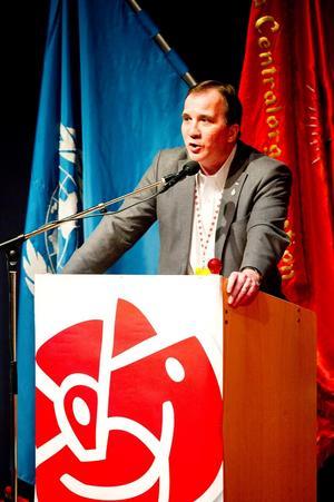 S-kongress i Sollefteå med Stefan Löfven, Ordförande IF Metall, den 17 april 2010.