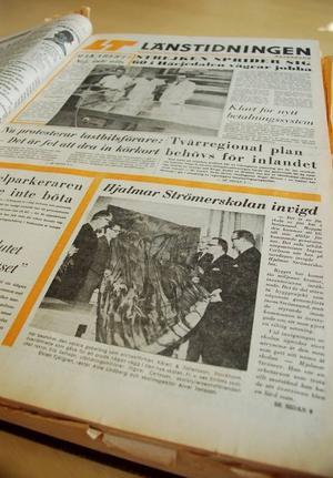 Ett enhälligt kommunfullmäktige beslutade 1966 att bygga en integrerad gymnasieskola i Strömsund till priset av åtta miljoner skriver LT den 10 april 1970, dagen efter invigningen. Det var då det dyraste bygget som kommunen genomfört. På hösten 1968 stod skolan klar och priset hade då stigit till tio miljoner. Bygget blev en miljon dyrare än beräknat och inventarierna kostade en miljon.