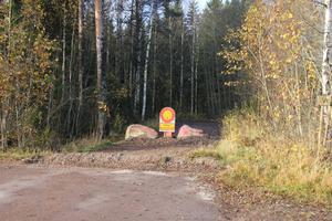 Södra vägen i Krylbo.