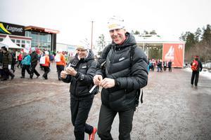 Gunde Svan coachar deltagare i Team Preem under årets Vasalopp.