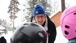 Närvaron med barnen är viktigast i förskolan, tycker Åsa Darlöf, förskollärare.