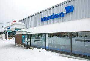 Den sista maj stänger Nordea sitt kontor i Leksand.