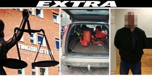 14 augusti körde den misstänkte mannen på Stortorget i Östersund. Mannen greps på plats av polis.