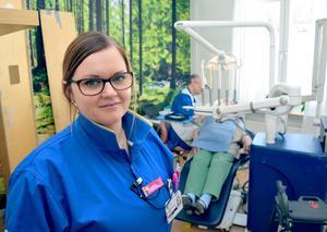 Tandhygienisten Helen Angatyr är initiativtagare till Rättviks Folktandvårds satsning på hembesök.