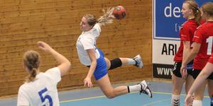 Louise Eriksson har fått en strålande start i sin nya klubb Spårvägen.