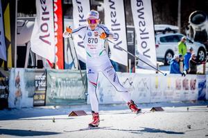 Lisa Vinsa segrade i damernas tremil. Foto: Jocke Lagercrantz.