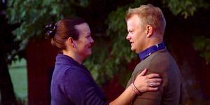 Lina och Per kom nära varandra i onsdagens avsnitt av