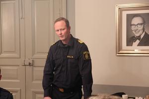 Lokalpolisområdeschef Mattias Skarp sa att polisens närvaro i Hedemora kommer att växa successivt kommande år mellan 2021-2024.