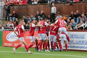 Sandviken slutade sjua i division 1 norra 2019, 13 poäng bakom tvåan Umeå FC, som kvalade upp till Superettan.