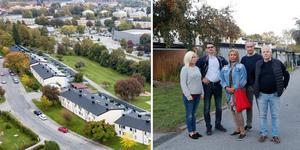Öbo bygger om deras hem - och höjer hyrorna med 40 procent. Nu protesterar de som bor på Apelvägen på väster i Örebro.