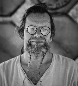 Lasse Ström från Avesta har gjort stommarna till de stora drömfångarna. Foto: Privat