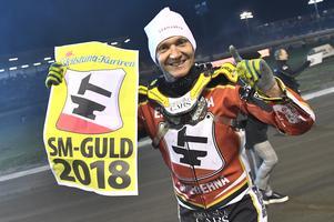 Fredrik Lindgren har två SM-guld med Smederna och ett VM-brons. Foto: Claudio Bresciani/TT