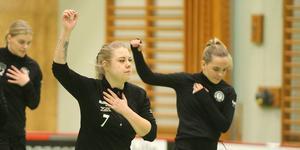 Rebekkah Nordberg är nöjd med första halvan av säsongen, trots derbyförlusten mot Midas.