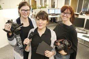 Jessica Eriksson, Ellinor Gotby-Eriksson och Måna J Roos är NT:s trio som kommer att bevaka Roslagens Företagsgala hela aftonen.