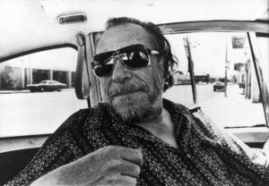 Den tysk-amerikanske poeten och författaren Charles Bukowski 1987.Foto: SCANPIX