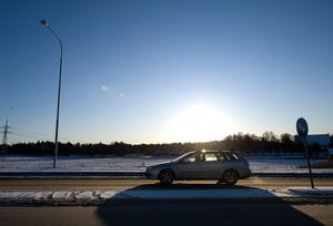 Skribenten åker mellan Ånge och Sundsvall men fick en minimal sjukreseersättning. Bild: Anders Wiklund/TT