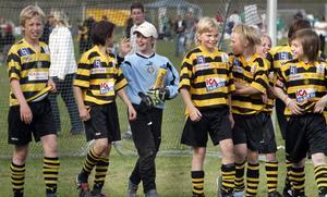 VSK-målvakten Daniel Svensson 2005. Foto: Arkiv