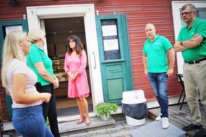 Centerpartiet i Lindesberg bjöd in till pressträff med en månad kvar till valet.