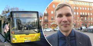 Dyrare bussbiljetter ett nödvändigt ont, enligt regionrådet Fredrik Åberg Jönsson (V).