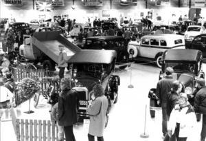 1985 var det dags för veteranbilsutställning igen.