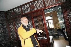Gert Fylking tyckte att Dragon gaten var ett mycket speciellt ställe och han tycker att det är riktigt synd att inte hotellet öppnats.