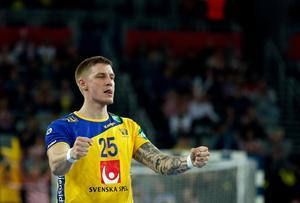 Linus Arnesson har fått mersmak på landslagsspel efter EM-succén i Kroatien.Foto: Darko Bandic/AP