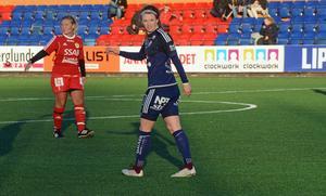 Chestley Strother-Ashley gjorde sitt första mål för Kvarnsveden när Gustafs besegrades i genrepet.