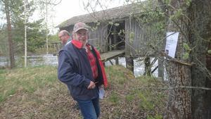 Göran Dahlbäck, Järbo, läser fråga vid linskäkten.