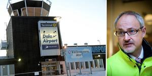 Dalaflygets marknadschef, Stefan Carlsson, är glad att kunna erbjuda direktflyg från Dala Airport till Gran Canaria även nästa vinter. Bilden är ett montage.