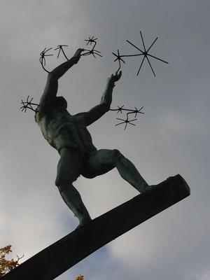Olympen. Foto: Göran Greider