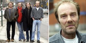 Mikael Rickfors, Mats Ronander, Göran Lagerberg och Magnus Lindberg i Grymlings. Foto: Leif R Jansson/TT