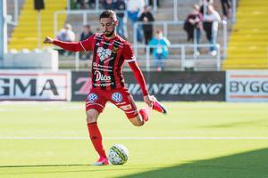 Gabriel Somi erbjuds kontrakt på två år av ÖFK.Bild: : Robert Henriksson / TT