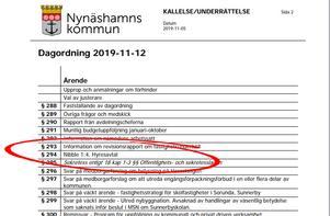 Hyresavtal som inte blev av. Oppositionen i Nynäshamns miljö- och samhällsbyggnadsnämnd röstade ner förslaget att hyra ut lokaler i Tallbackaskolan till Binomen, då man tycker att det är bättre att låta skolan finnas kvar i Vansta.