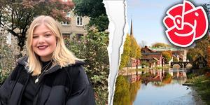 Klara Sparv lämnar Socialdemokraterna i Arboga.