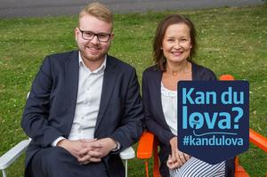 Viktor Wärnick och Marjo Myllykoski, Moderaterna Söderhamn.