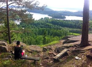 Rödklitten har värde både socialt för friluftsliv och naturvärden. Foto: Erik Åmell