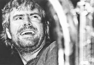 Bluesmusikern Rolf Wikström. Bild: Kjell-Åke Jansson