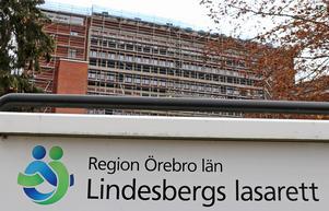 Göran Falck oroas av att Lindesbergs lasarett inte nämns när en undersökning är gjord där.