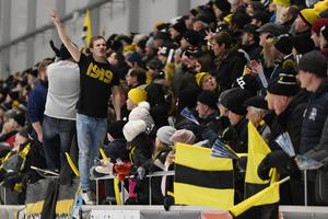 Så här såg det ut under det senaste derbyt mellan Broberg och Bollnäs, i januari.