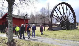 För flera av ABB-pensionärerna var det första gången man besökte gruvmuseet.