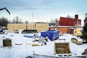 Bollnäs reningsverk i Häggesta byggdes i början på 1960-talet.