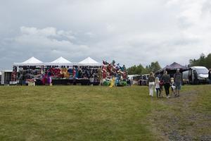Vädret var på arrangörernas sida hela helgen.