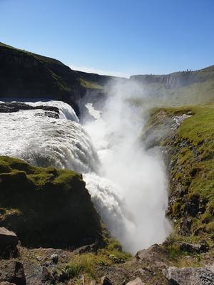 Gullfoss - ett mäktigt vattenfallFotograf: Agneta Sjöberg, Carola Viksten