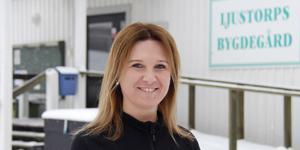 Marlene Lindström tycker att biosatsningen på bygdegården är riktigt spännande.