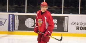 Tomislav Lovric ska pröva sina vingar på seniornivå med Visby/Roma i den södra hockeyettan.