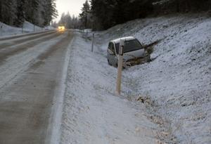 När räddningstjänsten kom fram till platsen fanns det inga personer kvar i bilen.
