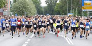 600 deltagare var med och sprang Gubbracet på tisdagskvällen.